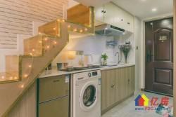 仁和路 双地铁口,金地自在城,小面积 复式公寓,以租养贷自在城店) 1室1厅1卫  37.2㎡