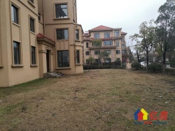 世茂龙湾四期,双拼别墅,地上四层,客厅挑空,带300平花园,