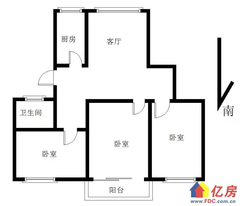 四小区品质三房,中间楼层,三房朝南,价格美丽。,武汉东西湖区常青花园康居物业二手房3室 - 亿房网