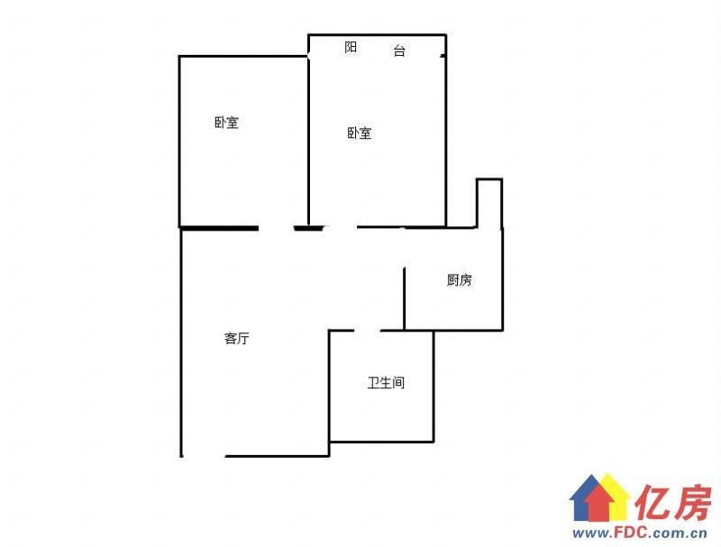 云林街建银小区精装两房中间楼层仅售115万买到就是赚到有钥匙,武汉江岸区台北香港路云林街二手房2室 - 亿房网