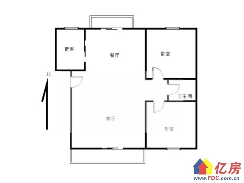 十一小区简装2房 中高楼层厅带阳台采光超好 随时看房,武汉东西湖区常青花园东西湖区公园南路129号二手房2室 - 亿房网