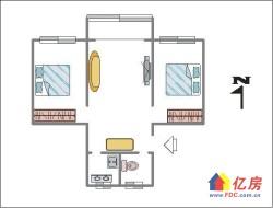 出售 汉阳大道王家湾商圈七里小区 2室1厅1卫