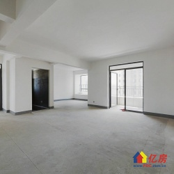次新小区 毛坯  客厅带阳台   双阳台  高楼层  采光好