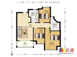 证满税低,中间楼层随时看房,卧龙丽景湾毛坯大三房,房东诚售