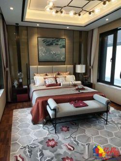 泰禾知音湖院子,70年产权中式别墅,上下5层送车库,院子