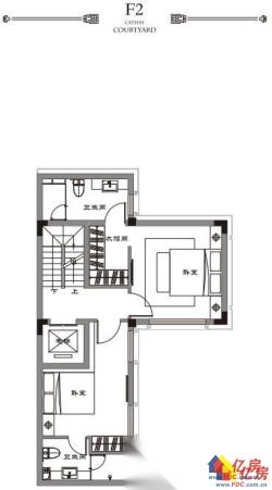 中式合院别墅,300%的赠送面积,一线临湖,有露台有花园有地