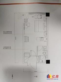 5.4米酒店包租!租金7500每月!光谷H,双地铁口,精装修