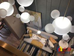 武昌绿地派克公馆高铁站旁单价1.3万复式毛坯公寓买一层得两层