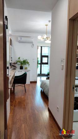 汉阳四新核心双地铁口中铁世纪金桥精装一室一厅一卫总价低月供低