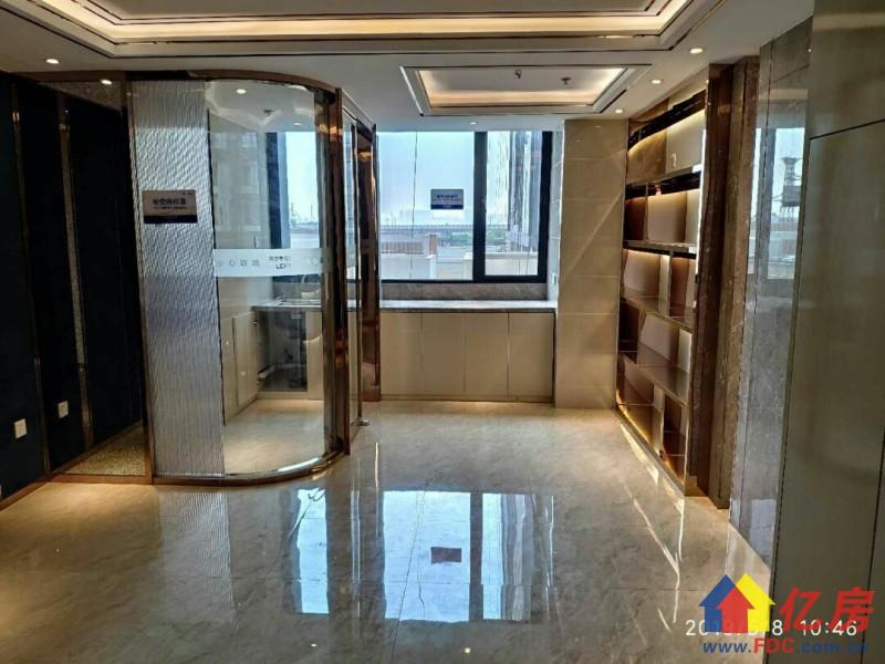 片区唯一带天然气公寓 经济实用 买一层得两层 优质房型 百变空间 超高5.4米,武汉江岸区后湖江岸百步亭花园路18号二手房2室 - 亿房网