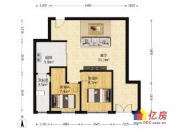 此房正规两房全朝南 交通便利.生活配套完善
