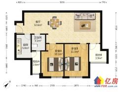 翠微福苑 2室1厅 东南