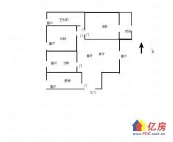 硚口区 古田 紫润明园北区 3室2厅1卫  93㎡1楼3房110万出售随时看房