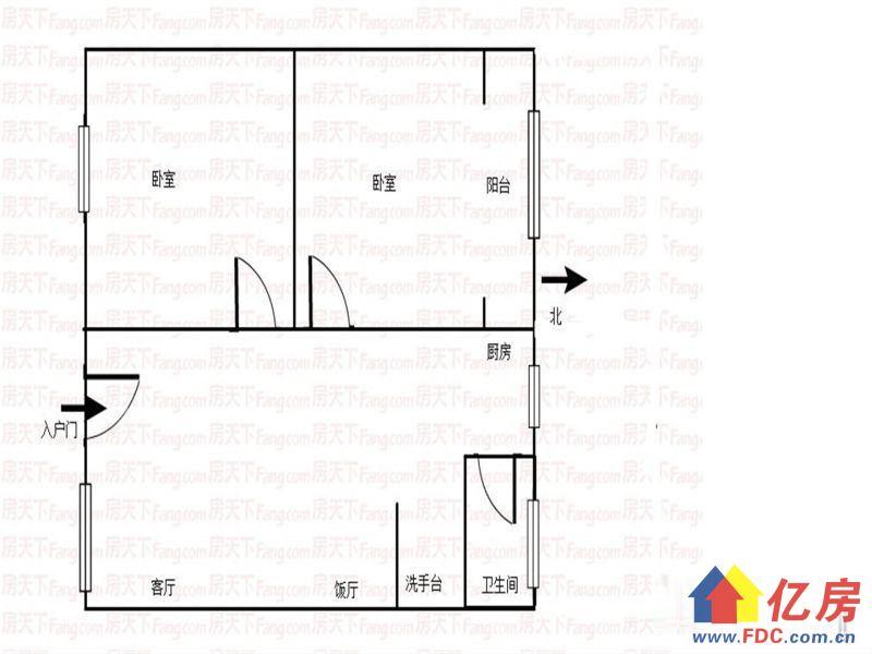 梅花苑2楼两房10万出售有钥匙随时看房,武汉武昌区白沙洲武昌白沙洲街武金堤西边二手房2室 - 亿房网
