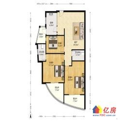 金珠港湾二期 电梯精装三房 两证两年 看房方便