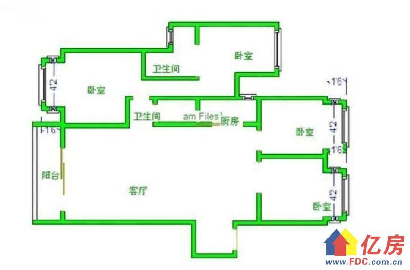 保利香槟隔壁 267万 洛悦府,武汉硚口区宗关武汉市硚口区汉西新村(武汉四中旁)二手房4室 - 亿房网