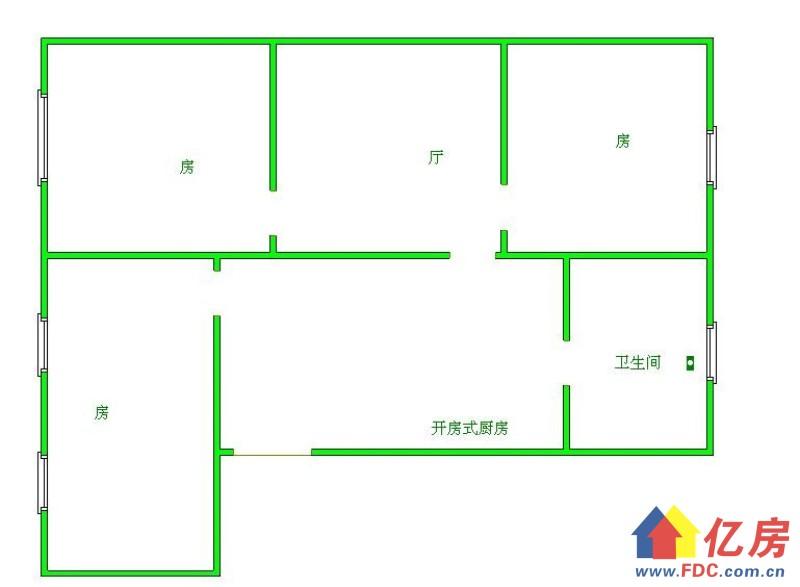 江岸区 大智路合作路的 新丽大厦 精装 看江朝南户型 电梯,武汉江岸区大智路江岸区胜利街88号二手房3室 - 亿房网