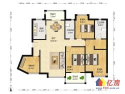 广电兰亭熙园 3室2厅 东南