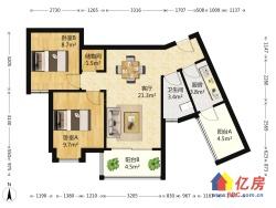 经典两房 中间楼层 精装修老证 看房方便