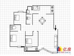 碧海花园 3室2厅2卫 128.0平米 150.00万元