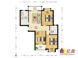 三里民居 3室1厅 南