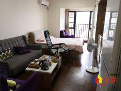 招商江湾国际,精装一房一厅,住宅楼,户型方正明厨卫,随时看房