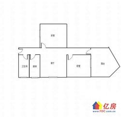 常青花园三村 对口常青一小 送13平露台 中间楼层 全明格局