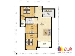 广电兰亭时代 3室1厅 南