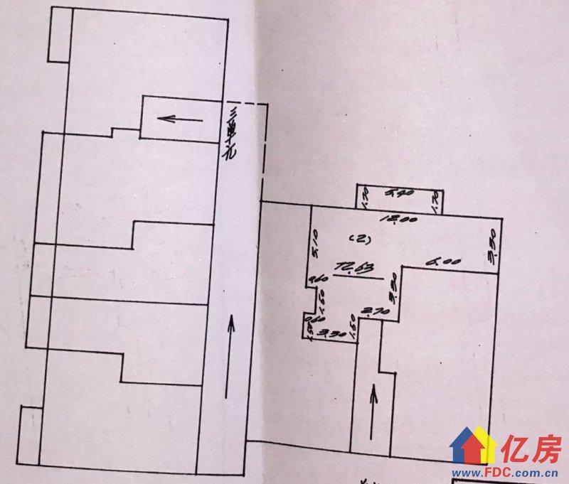 香港路六医院宿舍2室2厅1卫,武汉江岸区台北香港路武汉市江岸区球场路六中附近二手房2室 - 亿房网
