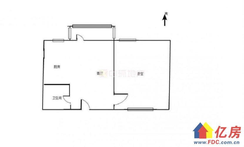 热点楼盘 对口一小 整个一室一厅 无遮挡 看房提前预约,武汉东湖高新区关山大道东湖高新区东湖开发区关山二路特1号二手房1室 - 亿房网