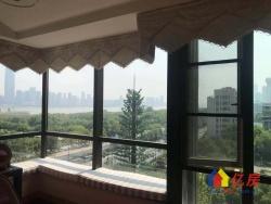 外滩棕榈泉9号楼 一线临江南北通透 三年难出一套 豪华装修!