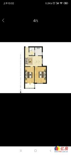 汉阳区 王家湾 江汉二桥街知音西苑社区 2室1厅1卫 60.59㎡