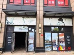 盘龙城巨龙大道珑璟轩成熟社区现铺,小区大门口,双门头门面!