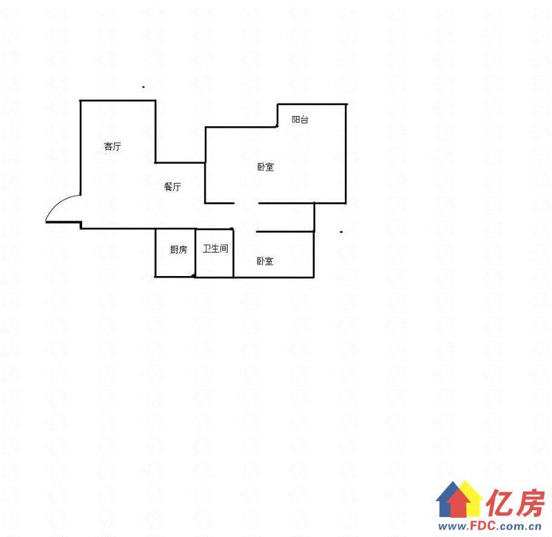 上南湖二小伟业佳苑90平米三室两厅200万出售,武汉武昌区南湖武昌南湖花园城长虹桥27号二手房2室 - 亿房网