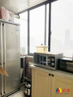 对口一元路小学 怡东大厦 结婚装修 有暖气片 一线江景 东南