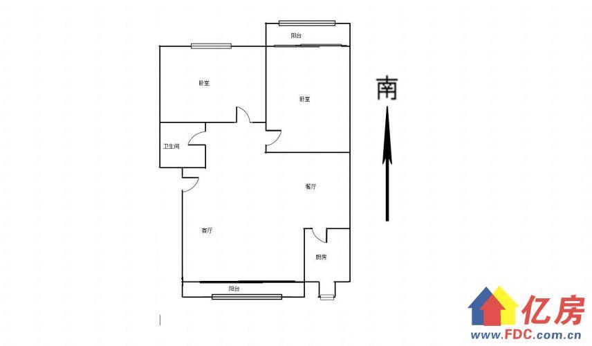 华锦花园精装两房中间楼层 满五年唯一税低 出门就是地铁口可看,武汉武昌区南湖南湖花园城建安街中国电信大楼对面二手房2室 - 亿房网
