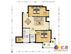 中间楼层 两证满两年 居家装修 带家具家电