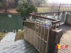 大洋彼岸 一线湖景精装联排别墅  老证 70年产权 不限购