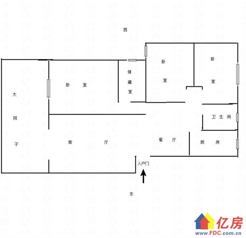 新大地家园 一楼带院子 精装 无税  单价18560元一平米,武汉武昌区南湖南湖花园城机场二路二手房3室 - 亿房网