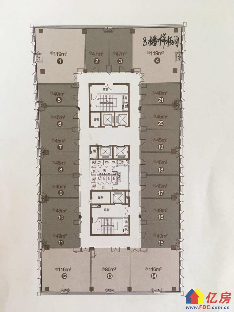 武科大旁,宝业中心Loft,买1送1层的复式楼,不限购不限贷,武汉青山区建二武汉市青山区建设一路与建港南街交汇处二手房2室 - 亿房网