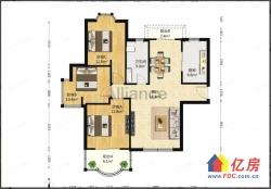 汉口花园四期 中装满五唯一三房好楼层出售