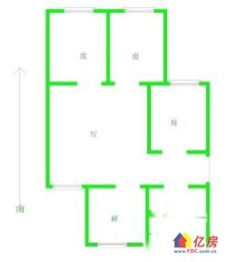 汉正大厦3室2厅朝南看江仅售175万元周边配套完善!欢迎看房