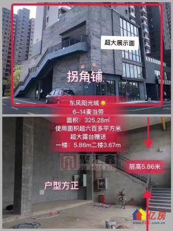 汉阳 江汉大学东风阳光城 独栋赠送300平 麦当劳承租