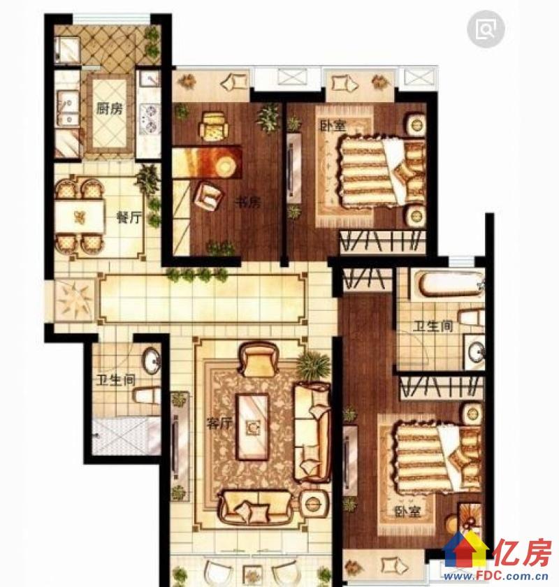 万松园青年广场房屋急售老证有钥匙,武汉江汉区武广万松园青年路64号二手房3室 - 亿房网