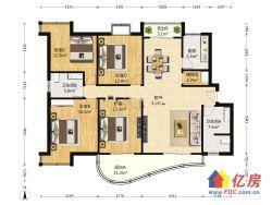 卓刀泉商圈  领秀城自住4房  满二精装  小区中间位置