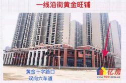 花样年锦绣城3千户唯一大门旁12米高买二做四层 带天然气现铺