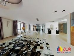 精装修,单层面积235平都是客厅..视野开阔.一线江景