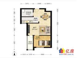 南湖名都B 1室 1厅 50.33平米