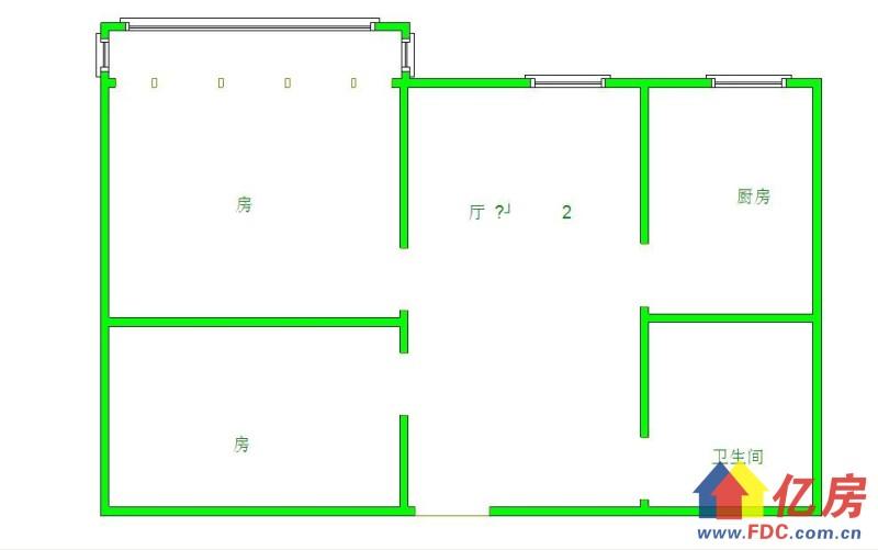 解放大道香港路 万科香港路8号 精装 小户型  电梯 两房一厅 带阳台,武汉江岸区台北香港路武汉市香港路8号二手房2室 - 亿房网