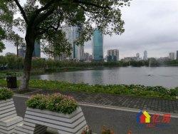 西北湖 碧湖花园 全房精心设计 格调清新 湖畔房 全房壁暖